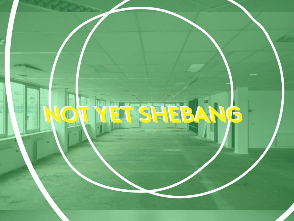 SHEBANG en Not Yet SHEBANG Amsterdam Zuidoost Imagine IC Bijlmerpark Theater en CBK Zuidoost